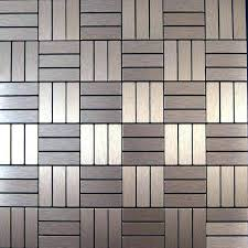 vinyl wall tile self stick metal wall tile save sheets brushed copper color aluminium metal self