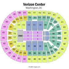 Virtual Seating Chart Verizon Center Virtual Seating Concerts Derekshaver3s Blog