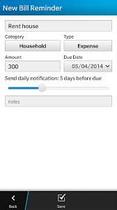 Personal Expense Tracking Quick Money Expense Tracking For Bb10 Blackberry Forums At