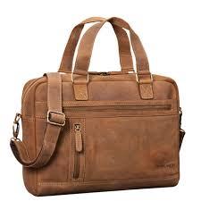 details about stilord dion mens leather shoulder bag large 13 3 inch laptop bag