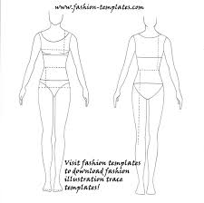 Costume Drawing Template Drawing Templates