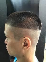 オシャレ坊主 男の髪型 理容室バーバーショップカズーの後は任せた日本