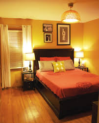 Orange Color For Bedroom Curtain Color For Orange Walls Inspiration Rodanluo