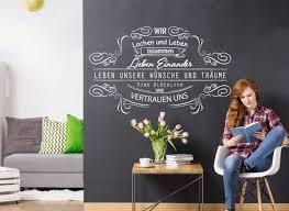 Wandtattoo Spruch Wir Lachen Und Leben W5502