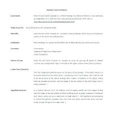 Summary Examples For Resume Delectable Resume Summary Template Llun
