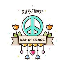 International Day Of Peace. Vector Illustration Of Peace Sign ...