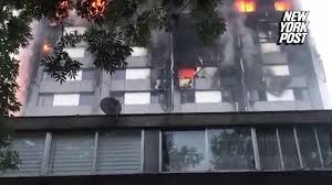 The desperate final acts of high rise fire s victims New York Post