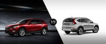 Mazda CX-5 vs 2015 Honda CR-V