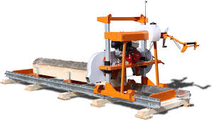 bandsaw mill plans. ml26 band sawmill features water-lubrication system for saw blade and auto-locking sawhead bandsaw mill plans