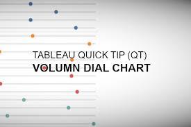 Tableau Qt Volume Dial Chart In Tableau Tableau Magic