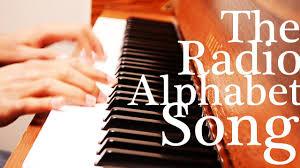 14 842 просмотра 14 тыс. Learn The Phonetic Radio Alphabet Song Youtube