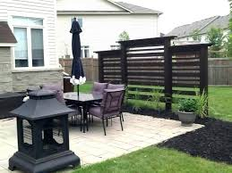 diy outdoor privacy screen ideas temporary deck screens wall ssive decoration for decks walls best on