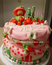 Toy Story Birthday Cake Coolest Strawberry Shortcake Kids Birthday