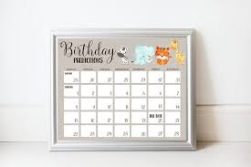 Printable Birthday Predictions Baby Shower Game Guess Due Date