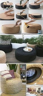 24 ideas para decorar tu hogar sin gastar. Tire FurnitureDiy ...
