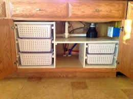 Under Kitchen Sink Storage Kitchen Accessories How To Organize Kitchen Under Sink Area And
