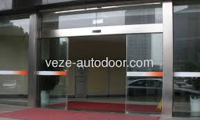 automatic sliding glass doors with