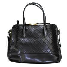 Mimosa Black Quilted Handbag | Pamela Scott & Mimosa Black Quilted Handbag Adamdwight.com