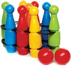 <b>Кегли</b> средние <b>Zebratoys</b>, с шарами, цвет в ассортименте, 11 ...