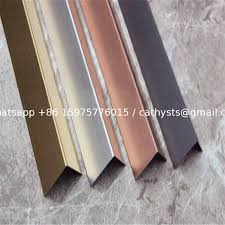 china china supplier stainless steel angle tile trim stainless steel grade 304 hairline