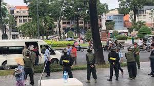 Image result for Từ sáng sớm ngày 17/6/2018, các lực lượng cảnh sát, mật vụ (an ninh chìm),