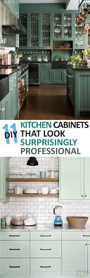 Kitchen Upgrades 11 Diy Kitchen Cabinets That Look Surprisingly Professional