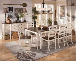 White Wood Kitchen Table Sets Using Dining Area Rugs Furniture Artfultherapynet
