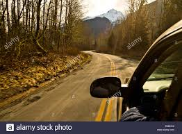 car driving down road.  Down A Car Driving Down A Mountain Road  Stock Image Inside Car Driving Down Road N