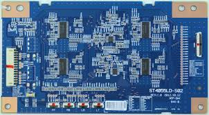 sony tv parts. sony kdl-46w905a - led driver board st4055ld-s02 rev:1.0 tv parts r