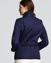 Burberry Brit Copford Quilted Jacket in Blue | Lyst & Gallery Adamdwight.com
