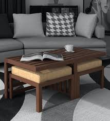 trendy coffee table with 2