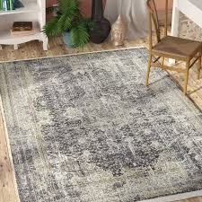 gray area rug 9x12 new bungalow rose lonerock dark gray area rug reviews gray area rug 9x12