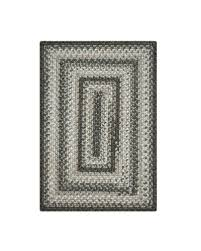 graphite grey ultra durable braided rugs
