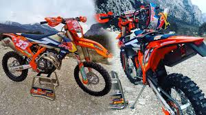 ktm 2017 exc enduro bikes released by factory riders enduro channel