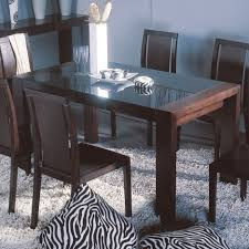 black wood rectangular dining table. Captivating Design Of Glass Dining Table Top. Simple Top Black Wood Rectangular E