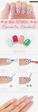 15 Easy to Follow Flower Nail Art Tutorials - Be Modish