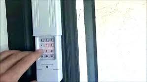 how to program er keypad er garage door opener keypad overhead door remote keypad program er garage door opener best of