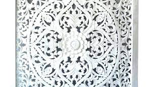 medium size of large white wood wall decor shutter wooden arch carved leaf art panel french