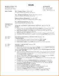 Free Canadian Resume Templates Best Of Resume Format For Freshers Mechanicalngineers Pdf Free Download
