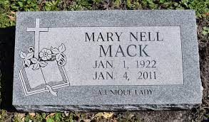 Mary Nell Mack (1922-2011) - Find A Grave Memorial