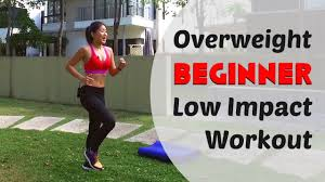 overweight beginner low impact home workout burn 300cals under 20mins joanna soh you