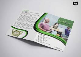 Best Brochure Design 2018 Bi Fold Brochure Psd Template Download Free Designhooks