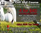 Michigan Coupons - River Cliff Golf Course and Lodge, Fremont, Ohio