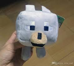 baby wolf minecraft plush. Exellent Wolf Minecraft BABY WOLF Plush Wolf With Tag 22cm GREAT  COLLECTION U0026 GIFT In Baby Plush 1