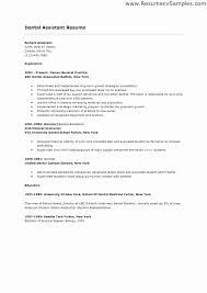 Dental Assistant Resume Sample Mesmerizing Dental Assistant Resume Examples Personal Dentist Resume Sample