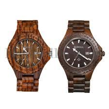 details about mens date wooden watches og quartz lightweight handmade wood wrist watch