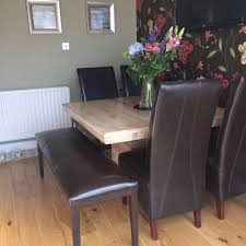 barker and stonehouse marble dining table 4 leather chairs and leather bench barker stonehouse furniture