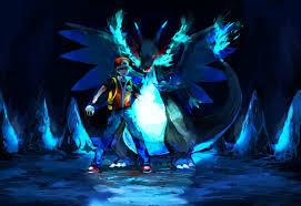 Pokemon Mega Charizard X Hd Wallpaper