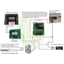 locks wiring diagram how to build a keypad operated door lock locksonline wiring diagram locks online locksonline wiring diagram 009