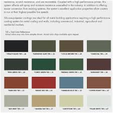 Ideal Roofing Americana Color Chart Building Colors Ideal Roofing Americana Color Chart